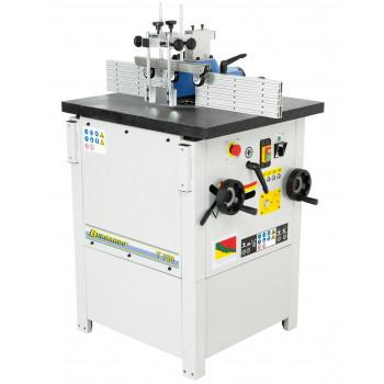 Masina de frezat cu ax inclinabil BERNARDO T 750 - 230 V, 3.8CP