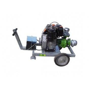 "Motopompa diesel IDROFOGLIA MTA2-100-LD, 4"" , 150 mc/ora"