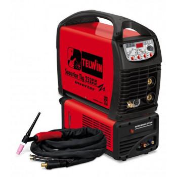 Aparat sudura TELWIN SUPERIOR TIG 252AC/DC-HF/LIFT VRD 400V+A
